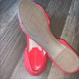 Marc Fisher Shoes - Marc Fisher Peep Toe Flats